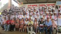 Graduation at Tanza School.