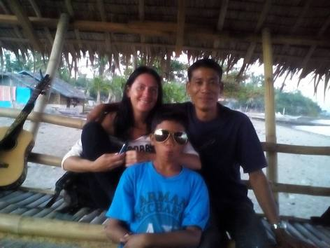 Enjoying Tanza Beach before leaving after my first trip April 2014.