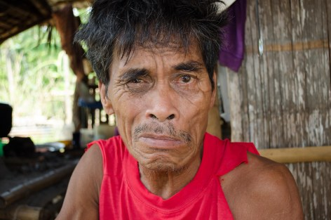 Sancho looked up and thanked God for sending help from his hospital bed.