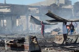 fire in estancia public market