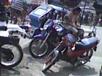 Market motorbikes