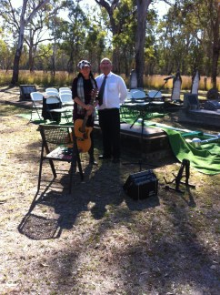 The blokes from Thorley's in Inverell made setting up my amp before the funeral a joy instead of a sorrow.