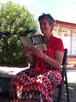 Joy Bowles reads 'Moon and the Yew Tree'