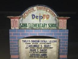 Sawa school grounds.