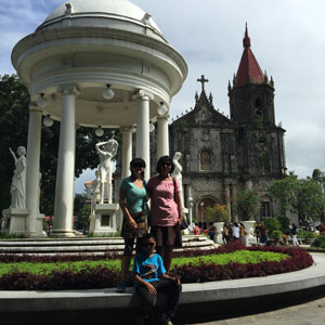 Last days in Iloilo City with Jing and Gundoy.
