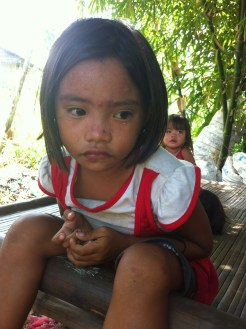 little children growing up in poverty