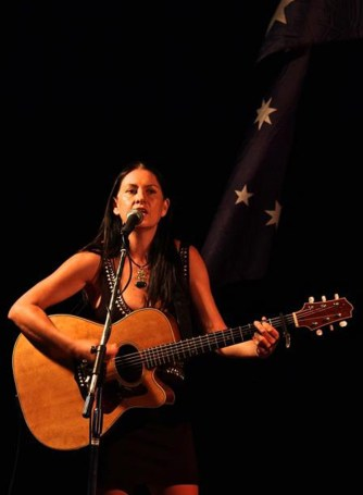 performing at mondos anzac day 2013