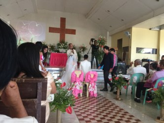 Wedding of Nichol and Ronalyn - the ceremony