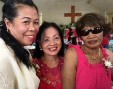 Wedding of Nichol and Ronalyn - three grandmothers