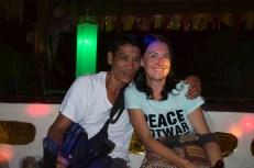 at the bamboo bar