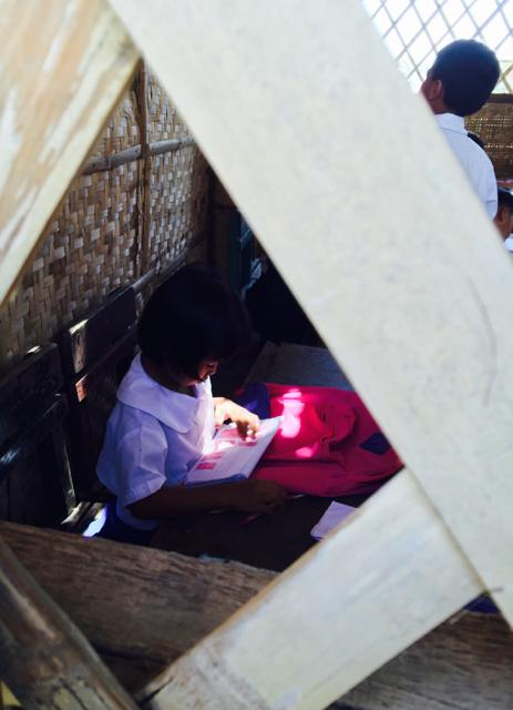 roseanne inside the classroom