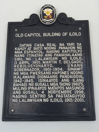 old capitol building of iloilo