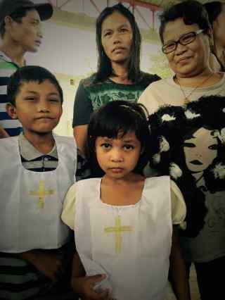 christening ni nonoy & bibi