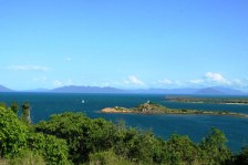 worked all day but still had a few moments for the stunning view from Flagstaff Hill, Bowen ... 22/1/2012