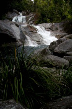 a late afternoon visit to enjoy the cool quiet of Josephine Falls ... 6/1/2012