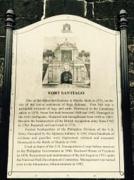 historic fort santiago