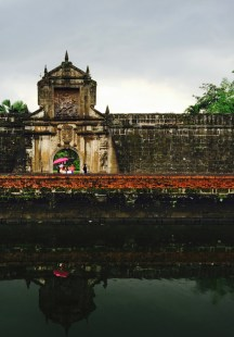 the entrance to fort santiago