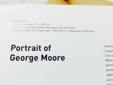 portrait of george moore