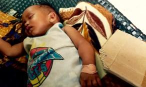 baby reggie asleep