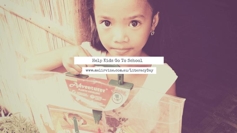 Help Kids Go To School on World Literacy Day