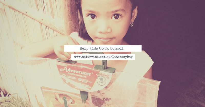 Help Kids Go To School on World Literacy Day