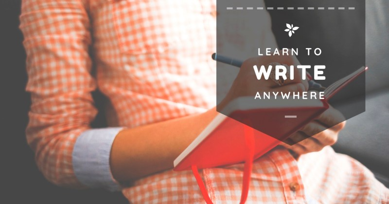 learn to write from anywhere