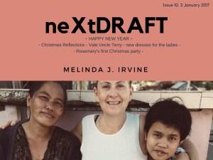 neXtDRAFT an eZine by Melinda J. Irvine Issue 10.