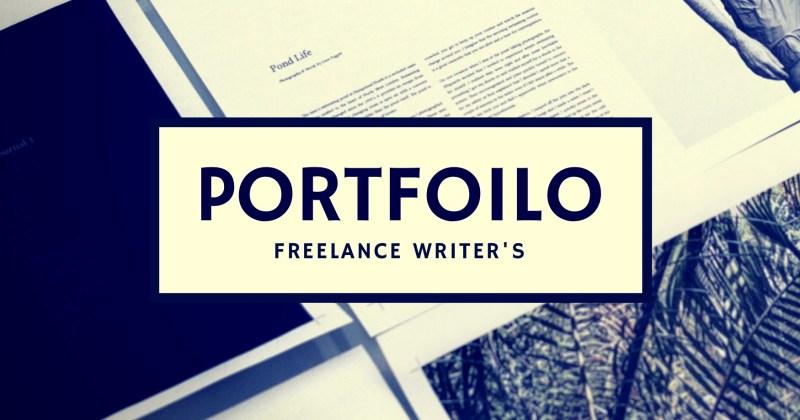 Melinda J. Irvine professional writer - building a writing portfolio