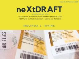 neXtDRAFT an eZine by Melinda J. Irvine Issue 16