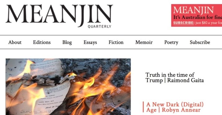get paid to write your personal story for meanjin