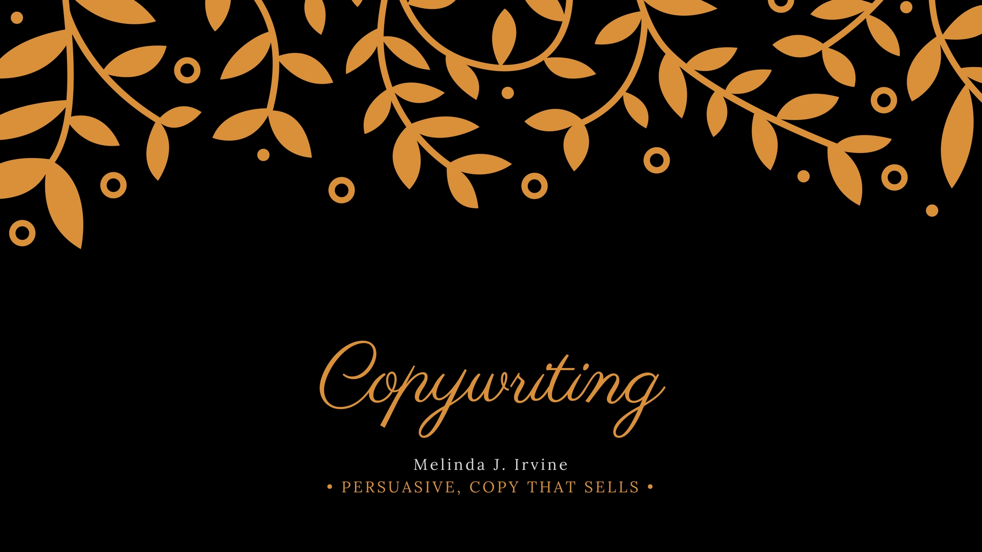 Melinda J. Irvine Professional Copywriting Service