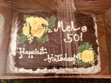 my 50th birthday cake
