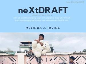 neXtDRAFT an eZine by Melinda J. Irvine Issue 21.