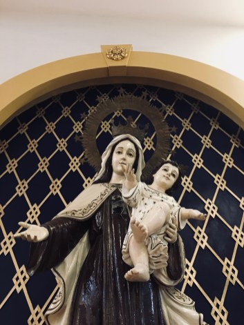 mary and jesus statue in jaro cathedral