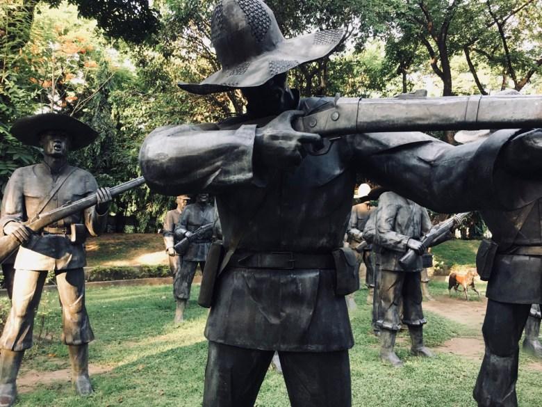 shrine to jose Rizal - Manila