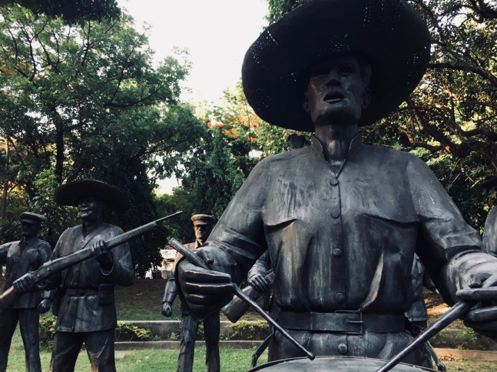 the execution of jose rizal - art memorial - manila4