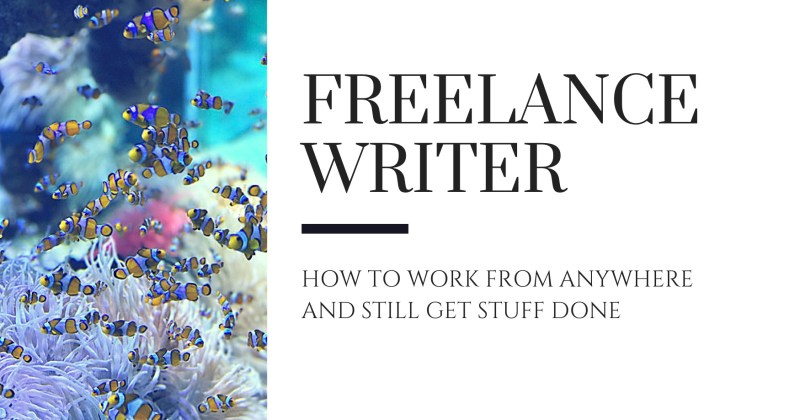 Melinda J. Irvine -- freelance writer -- how to work from anywhere and still get stuff done - can you? v1
