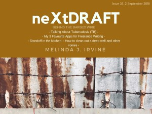 neXtDRAFT an eZine by Melinda J. Irvine Issue 35