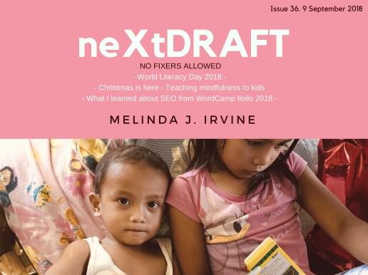 neXtDRAFT an eZine by Melinda J. Irvine Issue 36