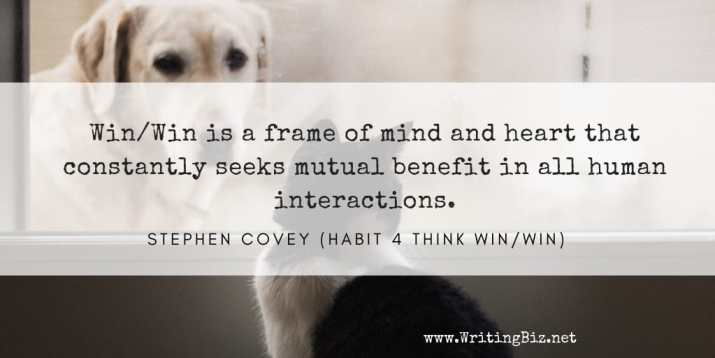 Melinda J. Irvine - freelance writer -- Win_Win is a frame of mind and heart that constantly seeks mutual benefit in all human interactions.
