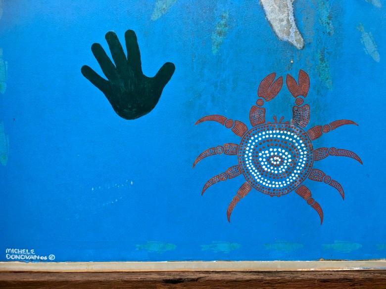 mural by michele donovan nambucca heads