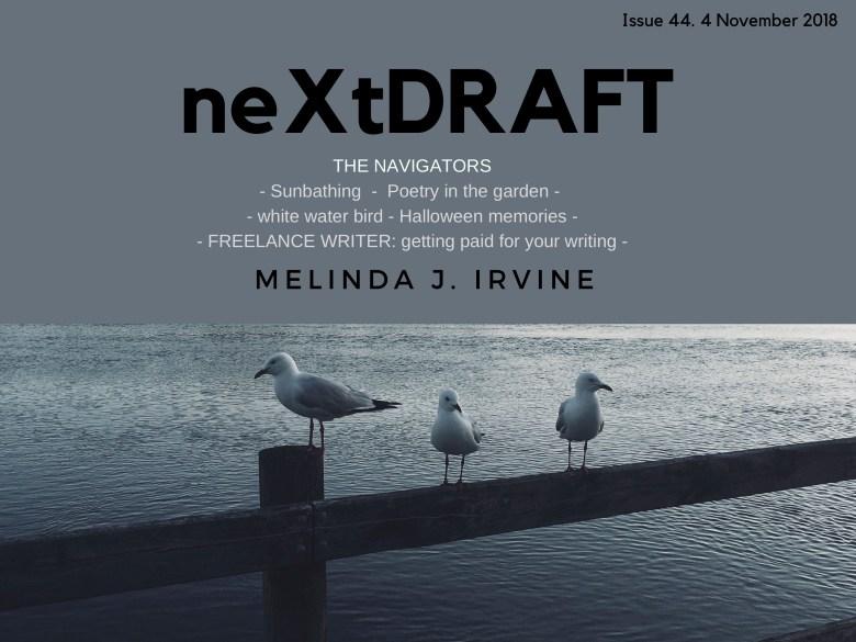 neXtDRAFT an eZine by Melinda J. Irvine Issue 44