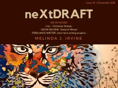 neXtDRAFT an eZine by Melinda J. Irvine Issue 47