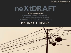 neXtDRAFT an eZine by Melinda J. Irvine Issue 49
