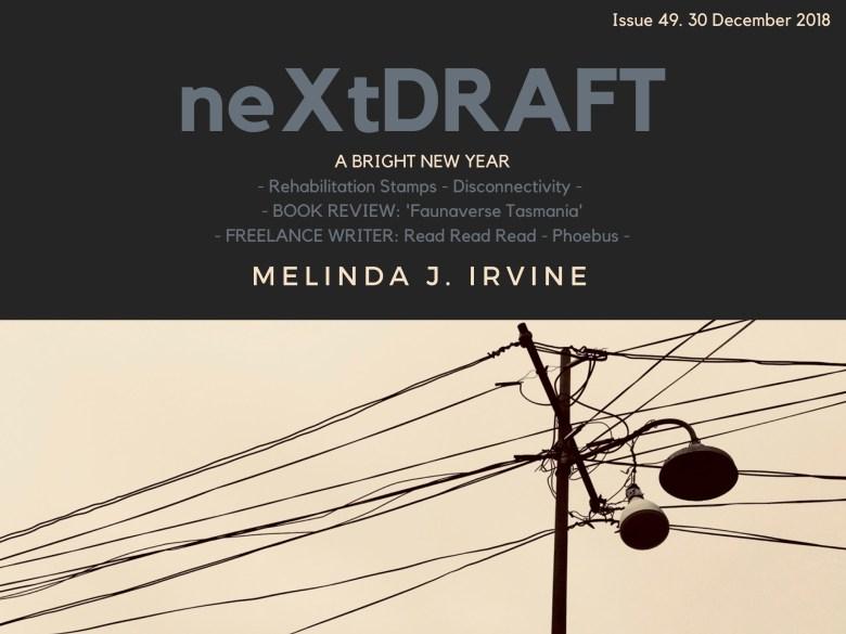 neXtDRAFT an eZine by Melinda J. Irvine Issue 49