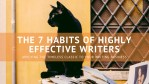 Melinda J. Irvine -- freelance writer tips - the 7 habits of highly effective writers