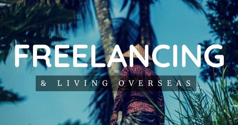Melinda J. Irvine -- freelancing and living overseas