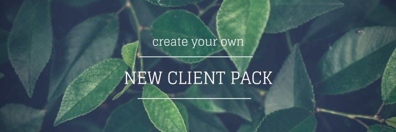 create your own new client pack - Melinda J. Irvine Freelance Writer