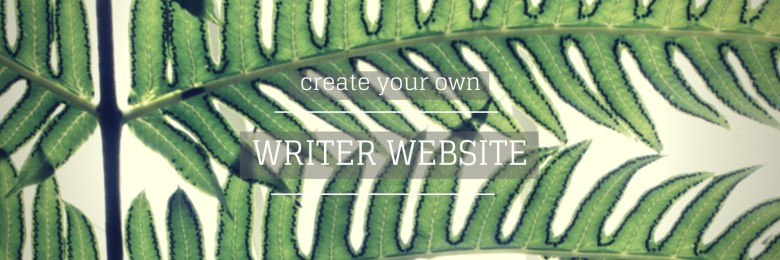 create your own writer website - Melinda J. Irvine