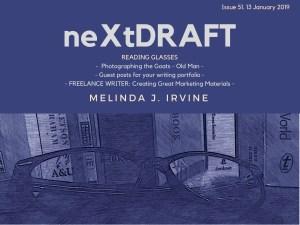 neXtDRAFT an eZine by Melinda J. Irvine Issue 51